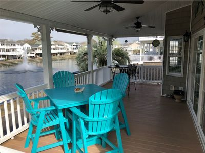 Photo for GORGEOUS LAKE FRONT HOME with GOLF CART included! Handicap Accessible Chair Lift
