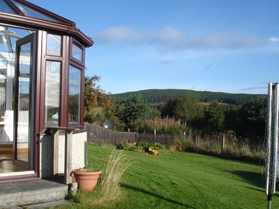 Photo for Peaceful home with open views in Cairngorm National Park, Scottish Highlands