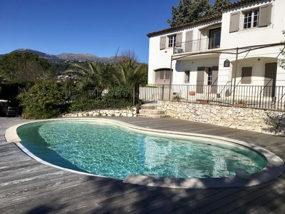 Photo for Large villa with pool in Saint-Paul de Vence, Nice area