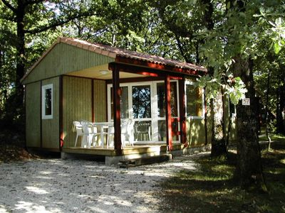 Photo for Camping La Truffière *** - Comfort Chalet 3 Rooms 5 People