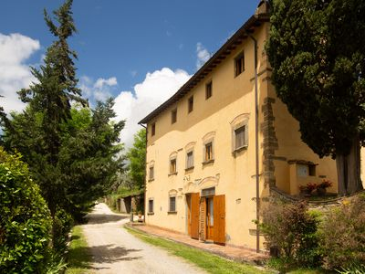 Photo for PANORAMA on CHIANTI BELLACASA FOR FAMILIES WITH GARDEN AND POOL WIFI FREE