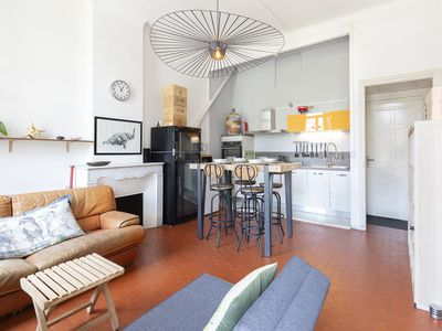 Photo for Charming apartment located in the center of Cannes.