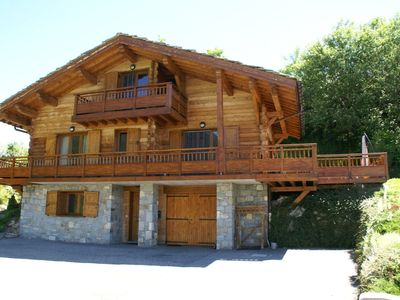 Photo for 4BR Chalet Vacation Rental in SAINT-FRANÇOIS-LONGCHAMP