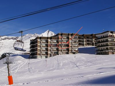 Photo for 3 room apartment, double-oriented, 6-8 persons, south-facing, ski in ski out