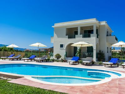 Photo for Villa Kampos with private pool