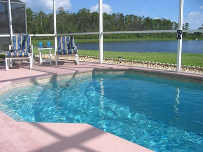 RELAX on the PATIO.  POOL is professionally serviced weekly.