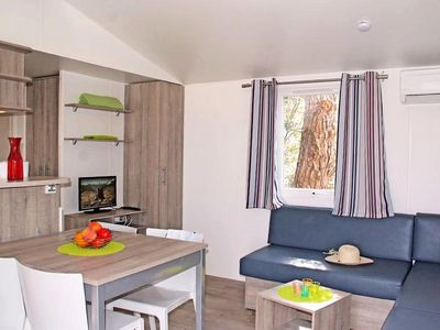 Photo for Camping Les Cigales **** - Mobile home Florida 4 Rooms 8 People