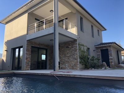 Photo for Contemporary new villa in a secured residence