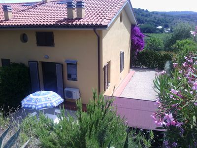 Photo for Cosy terraced house in green park of Elba near to the sea and in Porto Azzurro