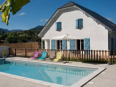 Photo for NICE HOUSE FOR 12 PEOPLE WITH SWIMMING POOL AND PARKING IN PICTURESQUE VILLAGE