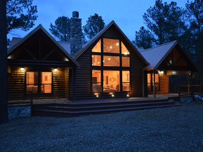 Photo for On A Whim is a luxury log cabin that has something for everyone