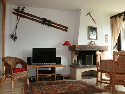 Photo for Delightful 1 Bedroom apartment in Chamonix with stunning views