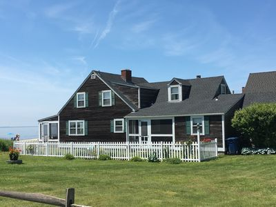 Waterfront House On Gorgeous Old Lyme Shores Beach - Sleeps 7 +