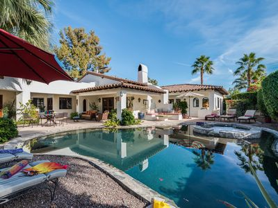 Photo for Old Palm Springs Hacienda Style with Modern Comforts