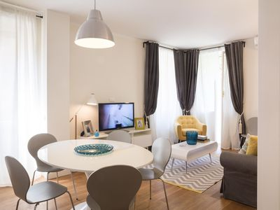 Photo for San Pietro Charme apartment in Vaticano with WiFi, air conditioning, private terrace, balcony & lif…