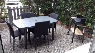 Photo for Very nice bright T1 with small garden 30m from the big blue