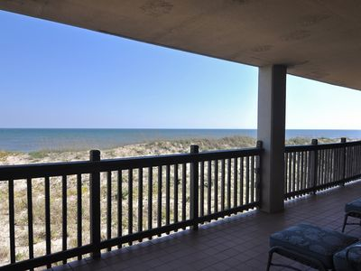 Photo for Heron Cove 202S: Oceanfront Condo Unit w/Private Balcony, Close to Shopping/Dining