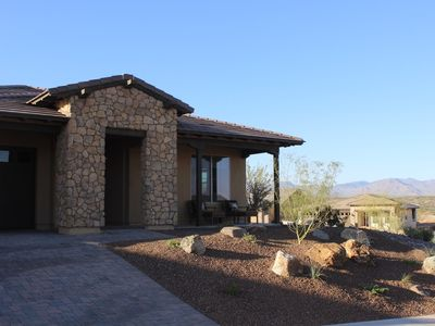 Photo for This is the One! Brand new home with colorful mountain views & open spaces.