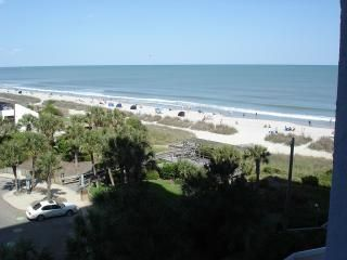 Photo for 1BR-1BA On the beach- GR8 Ocean and Beach View from private balcony.