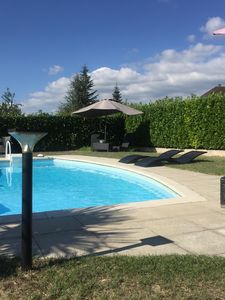 Photo for Private swimming pool, mountains, lakes, stay and long weekends.2 to 6 people