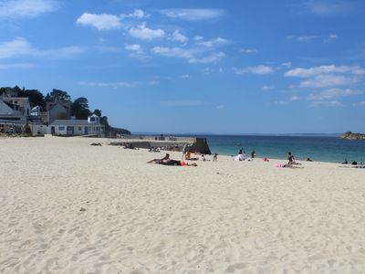 Photo for DOUARNENEZ Nice T2 access swimming pool and beach Résidence les Sables Blancs
