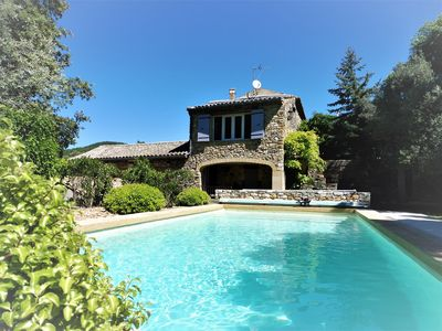 Photo for The Citadel, magnificent property in a quiet, 9X4 pool, dominant view.