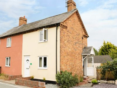 Photo for 2 CANAL VIEW, pet friendly, with open fire in Llanymynech, Ref 987317