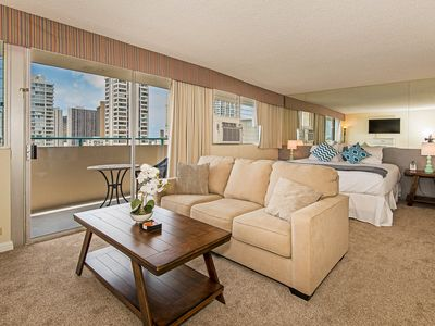 Photo for Ocean View Penthouse Studio By The Beach With Huge Lanai And Great Amenities