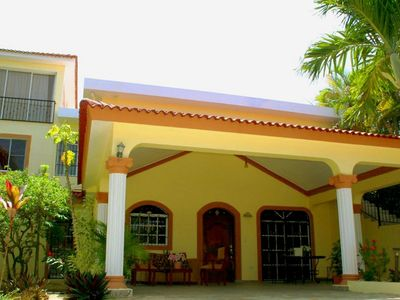 Photo for 6BD Guest-friendly Villa in central Sosua, pool/jacuzzi, AC/cable TV/Internet