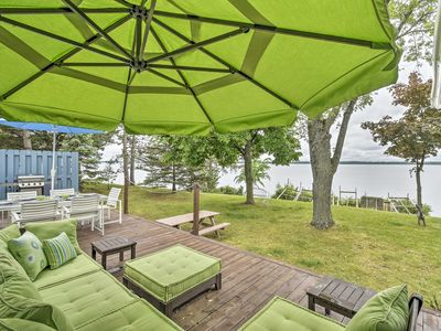 Photo for NEW-Lakefront Friendship House w/Dock, Deck & Yard