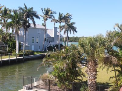 Photo for BEST OF BOTH BEAUTIFUL SARASOTA BAY VIEWS AND WHITE SAND BEACH STEPS AWAY.