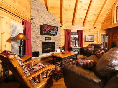 Photo for This quaint cabin in the Smokies will instantly transport you to a simpler time.