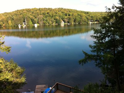 Photo for Roomy Lakeside Home With Great Views And Minutes From Trout Town USA (Roscoe)