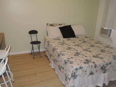 Photo for Studio in Copacabana, perfect for a couple. 100 meters from the beach