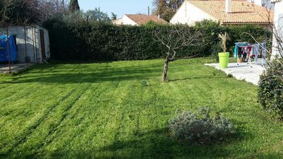 Photo for Comfortable villa!  Terrace, bays and wooded 600m2 garden Plein Sud!