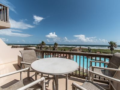 Photo for Two Bedroom Split Level Unobstructed Ocean View With Two Huge Balconies