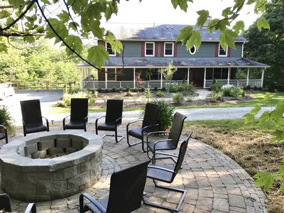 Photo for HUGE JUNE SAVINGS*CLOSE TO WINERY*Large 6 Bdrm*Hot Tub*Pool Table*Firepit