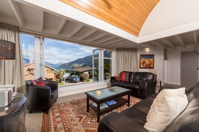 Bi-Fold Windows Open up to the View