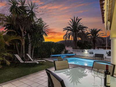 Photo for Luxury Villa in Beautiful Grounds with Private Heated Swimming Pool,Full Air-Con