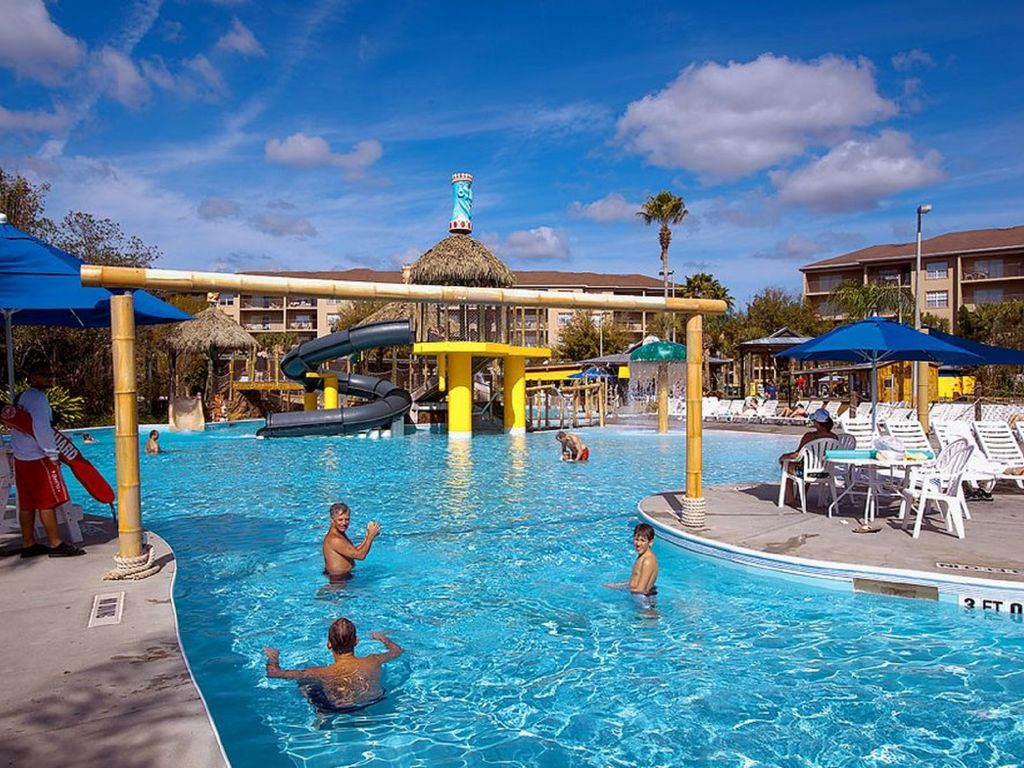orlando 2br condo waterpark waterslide hottub wavepool liki tiki