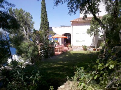 Photo for House on the Creek ALMADRABA with large garden between Rosas and Cadaques