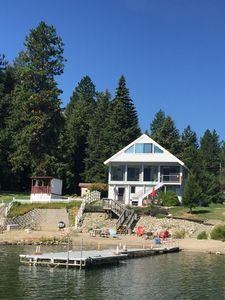Waterfront Year Round Vacation Home, Lake Cocolalla, Beach, Dock