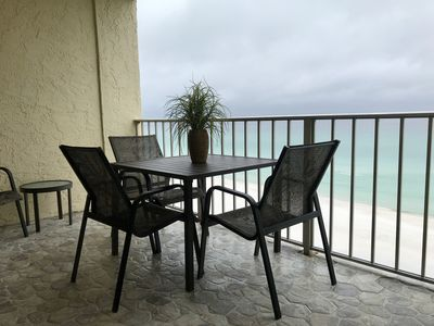Photo for Breathtaking Beachfront Condo, UNENDING VIEWS! FREE BEACH SERVICE
