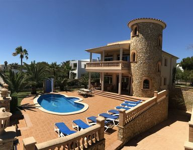 Photo for Fantastic Villa with Pool, Garden, Rooftop Terrace with Sea View & Wi-Fi