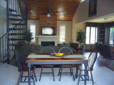Photo for Cozy Lakefront Home with Heated Pool and Minutes to the Beach
