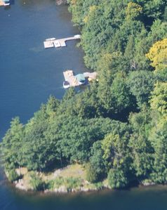 Aerial view of the point - great privacy