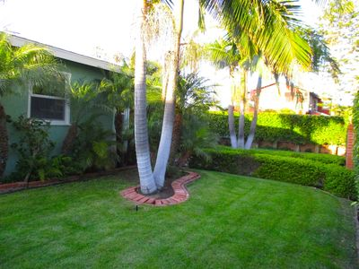 another front yard lawn area to enjoy