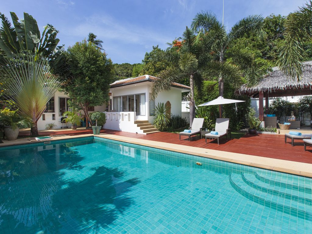 T533 luxury private garden pool villa bophut koh samui for Garden pool villa outrigger koh samui