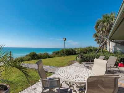 Photo for Fifty Palms- Gulf Front with private beach access in Old Seagrove
