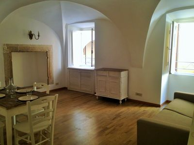 Photo for Navona Banchi Loft II apartment in Centro Storico with WiFi & air conditioning.